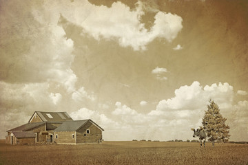 American Countryside - Vintage Design