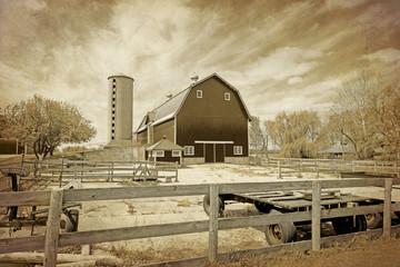 American Countryside - Vintage Design