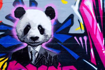 Estores personalizados con tu foto Suited panda