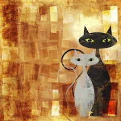 Fond de hotte en verre imprimé Bestsellers The Cats