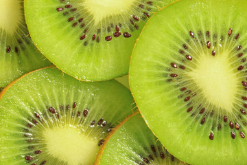 beautiful green kiwi