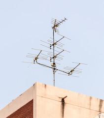 Old antenna pole