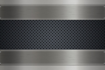 Mesh metal background