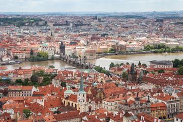 Charles bridge, Prague, Czech Republic,,