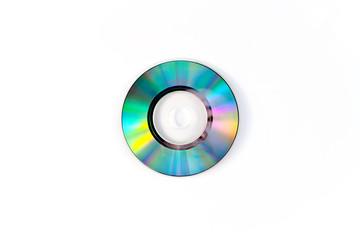 Vector illustration gold Mini CD disk for used in design