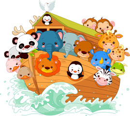 Canvas Prints Fairytale World Noah's Ark