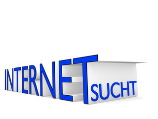 Internetsucht - 3D