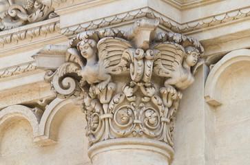 Basilica of Santa Croce. Lecce. Puglia. Italy.