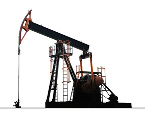 isolated oil well pump