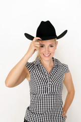 blondes Cowgirl