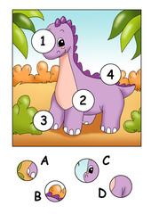 i pezzi mancnti, il dinosauro