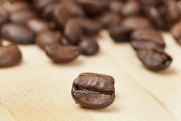 Black Organic Coffee Beans