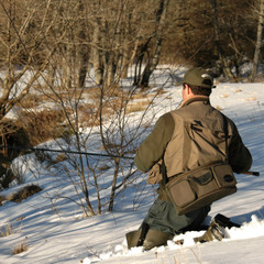 trout fishing in winter