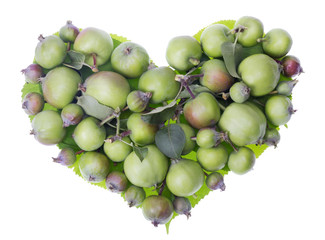 apples heart