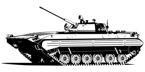 Fotorolgordijn Militair Infantry fighting vehicle