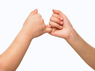 Commitment to hands