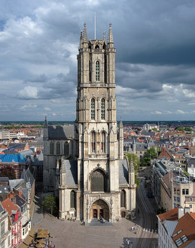 Saint Bavo Cathedral in Ghent, Belgium