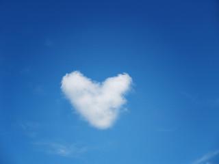 Herz im Himmel 4,  Wolkenherz