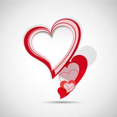 Cover speech in heart # Vector