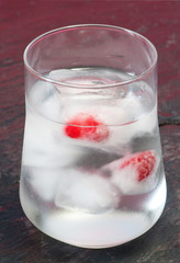 iced glass water