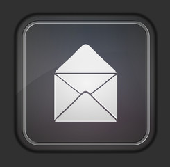 Vector version. Mail icon.  Easy to edit