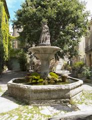 Fontaine village de Saignon