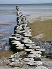 Wellenbrecher Ostsee