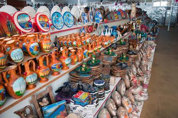 Souvenir shop in Turkey