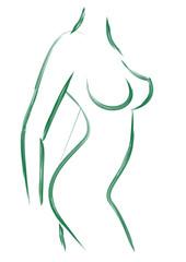 Fototapeta woman body obraz
