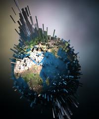 Erde Explosion i3