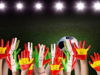 Euro Fußballfans