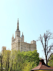 High-rise building in Moscow