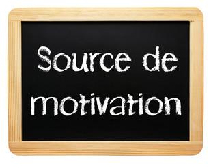 Source de motivation