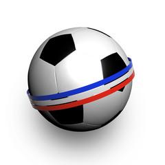 Pallone con bandiera francese
