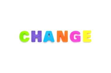 アルファベット CHANGE