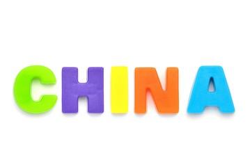 アルファベット CHINA