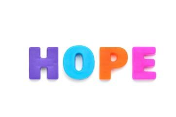 アルファベット HOPE