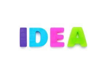 アルファベット IDEA