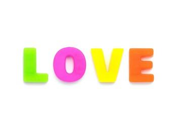 アルファベット LOVE