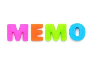 アルファベット MEMO
