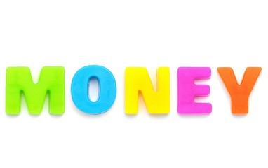 アルファベット MONEY