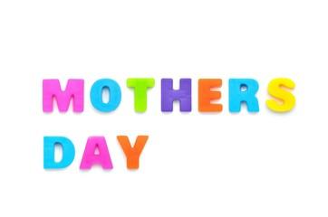 アルファベット MOTHERS DAY