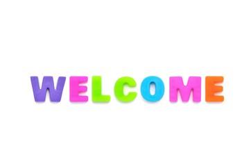 アルファベット WELCOME