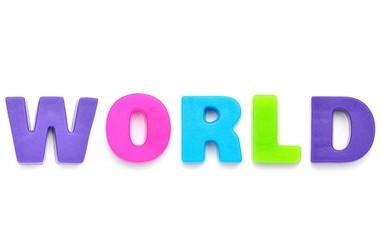 アルファベット WORLD