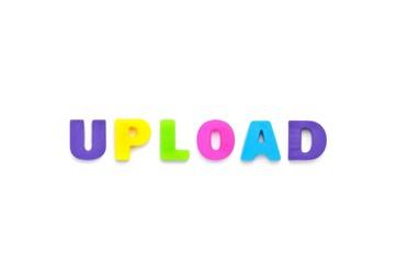 アルファベット UPLOAD