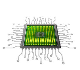 Fototapete - nano technology
