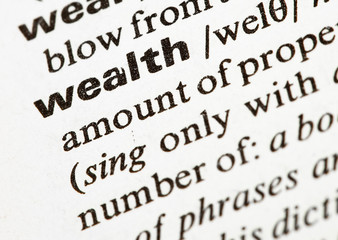 wealth word