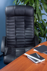 Office chair by the table