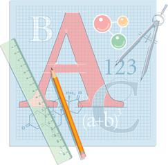 Education Theme Illustration
