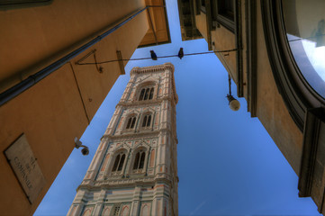Duomo Bell Tower - Firenze Italy